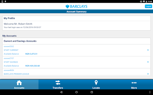 Barclays Mozambique- screenshot thumbnail