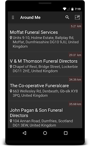 Locate Funeral Home