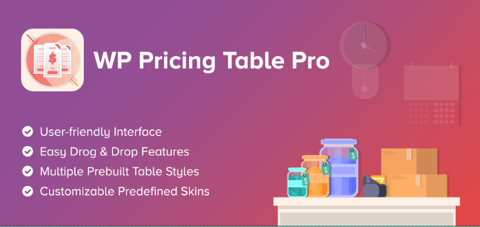 WP Pricing Table Pro