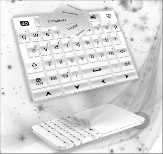 White Pearl Keyboard - náhled