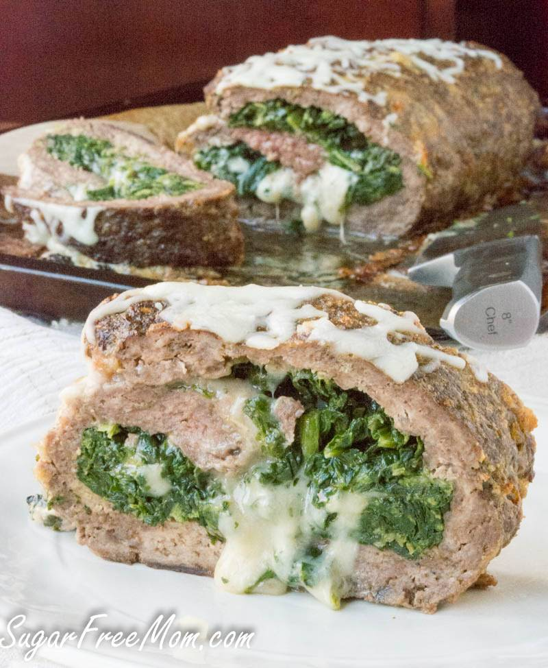 10 Best Cheese And Spinach Stuffed Meatloaf Recipes