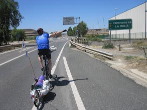 Photo: Dejamos Navarra y entramos en La Rioja.