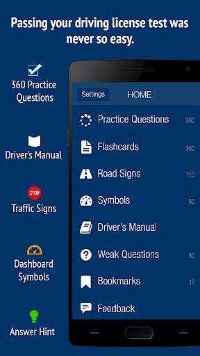 California DMV 2018 Test Prep  screenshots 1