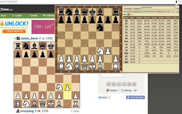 Chess Opening Explorer