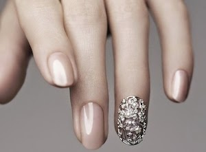 silver nail