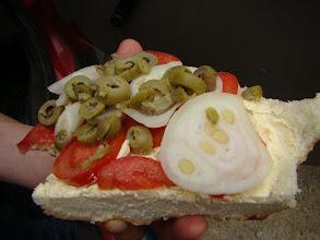 Photo: kanapka po tunezyjsku