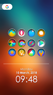 Mevo - Icon Pack Screenshot