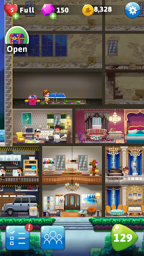 Pocket Family Dreams: Build My Virtual Home modavailable screenshots 5
