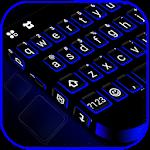 Blue Black Keyboard Theme 1.0