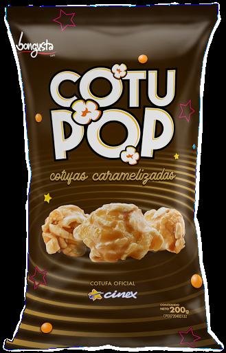 snack cotufa cotu pop caramelizada 200gr