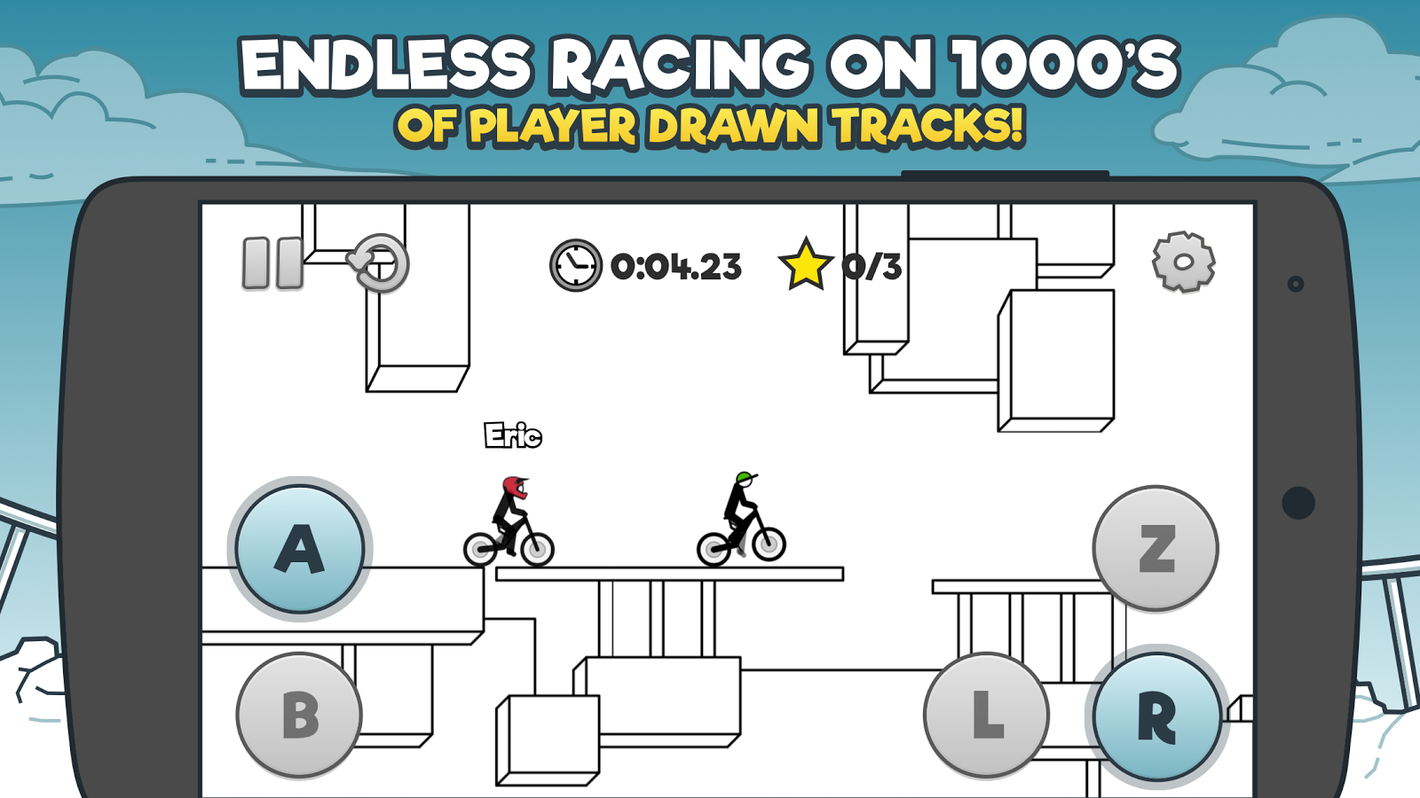 Free Rider HD- screenshot