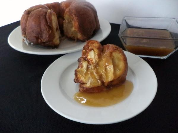 Pumpkin Gorilla Bread With Soco Toffee Sauce Recipe