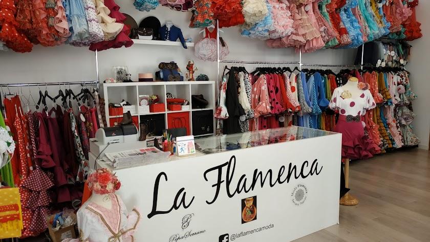 La tienda de moda La Flamenca es una de las participantes en la iniciativa.