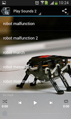 Robot Ringtones Screenshot