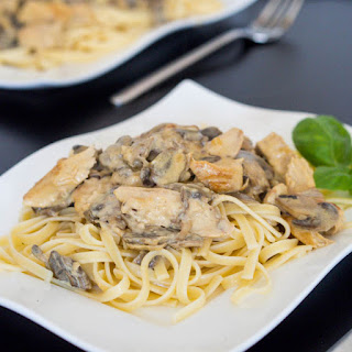 Dijon Chicken and Mushroom Pasta Recipe
