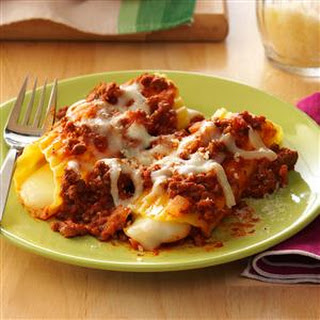 Easy-to-Stuff Manicotti