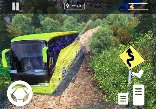 Real Offroad Bus Simulator 2020 Tourist Hill Bus 3.5 screenshots 6