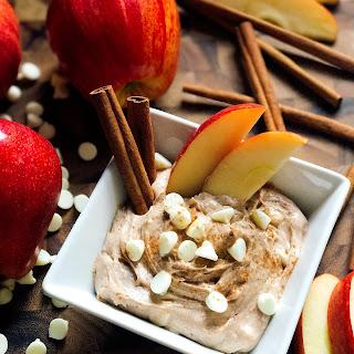 Cinnamon Apple Cream Cheese Dip.
