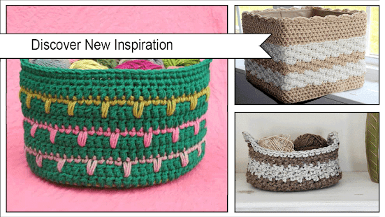 Easy Crochet Basket Patterns Apps On Google Play