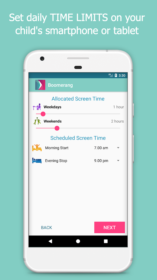 Boomerang - Parental and Screen Time Controls- screenshot