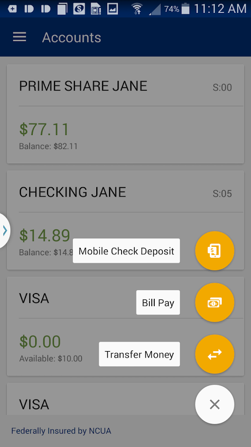 DCECU Mobile Banking- screenshot
