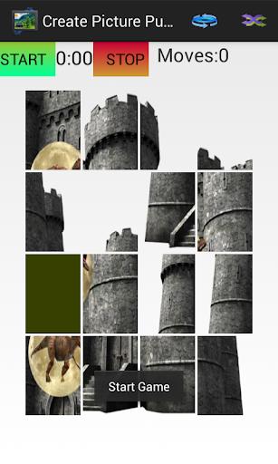 Create Picture Puzzle 玩棋類遊戲App免費 玩APPs