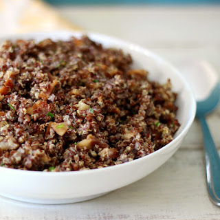 Bacon, Eggs and Chives Quinoa.