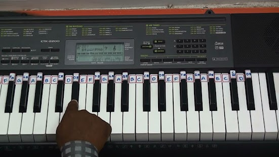 Piano Notes-Hindi,Tamil,Telugu- screenshot thumbnail