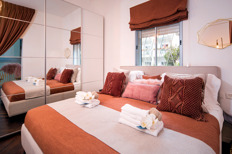 Luxury bedroom at Bartenura