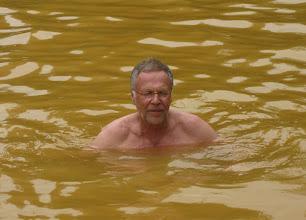 Photo: Lasse uimassa nuoruudenlähteessä Terra Nostrassa - kymmenen vuotta karisi, siis!