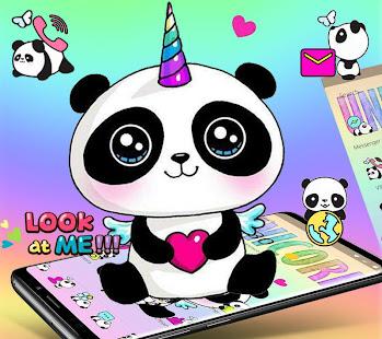Cute Panda Unicorn Theme Apps On Google Play