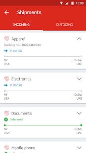 Aramex Mobile - náhled