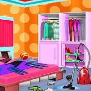 Messy House Closet Cleaning: Room Cleanup Sim Game