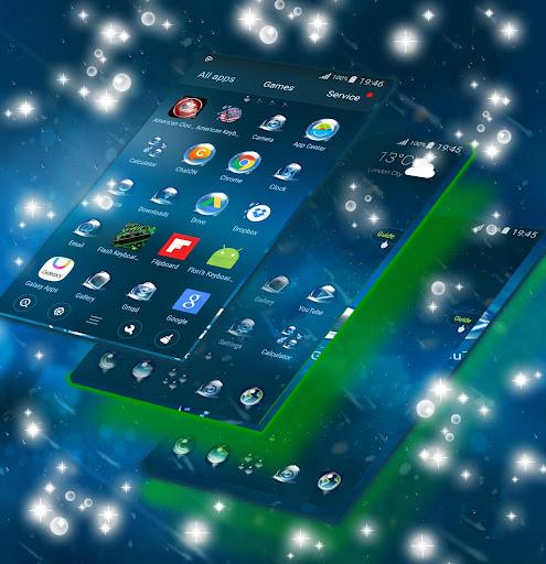 雨のGOランチャーのテーマ|玩個人化App免費|玩APPs