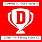 dream11 ipl fantasy cricket, D11 daily news & tips icon
