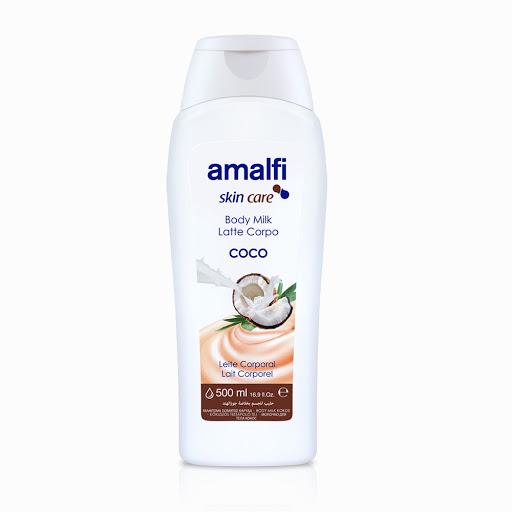 crema corporal amalfi body milk coco 500 ml