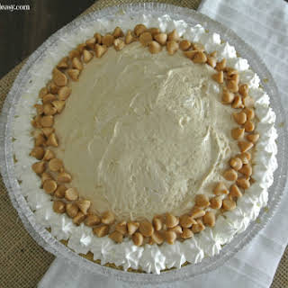 Easy No Bake Make Ahead Peanut Butter Pie.