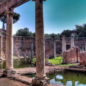 Teatro Marittimo by Riccardo Lazzari - Buildings & Architecture Statues & Monuments ( roma, teatro, villa adriana, marittimo, tivoli )