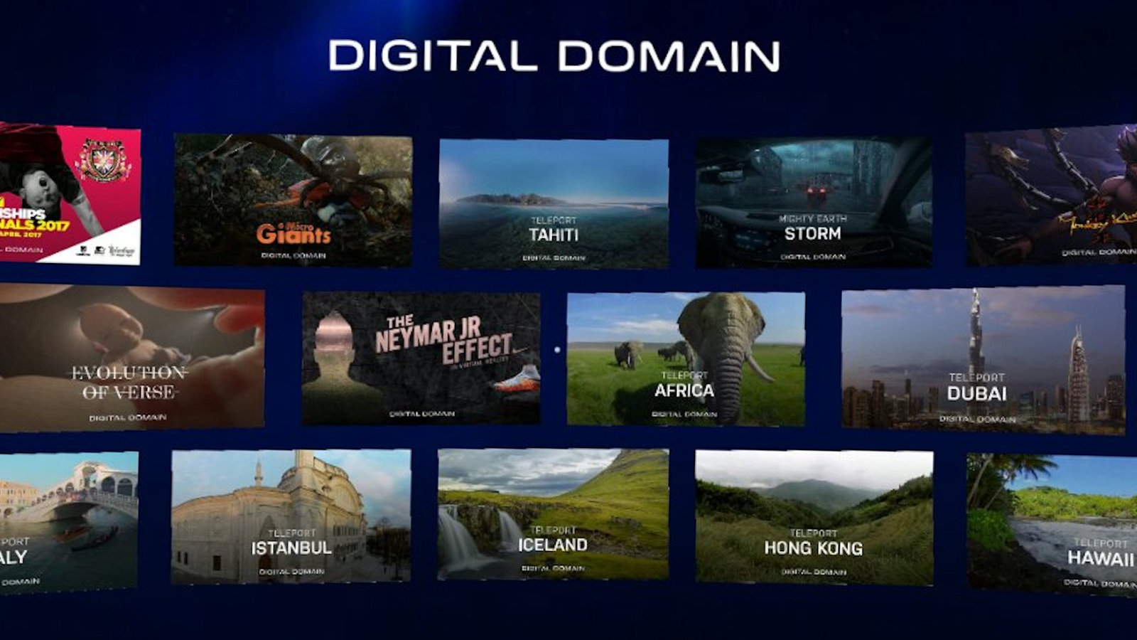 Digital Domain VR- screenshot