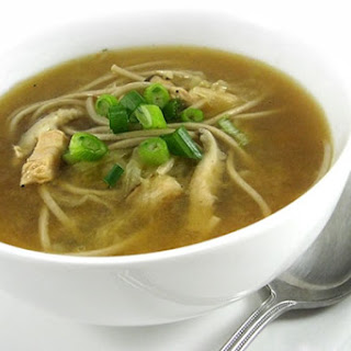 Amazingly Delicious, Skinny Hot and Sour Chicken Soup.
