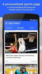 Chat Sports - News & Scores- screenshot thumbnail