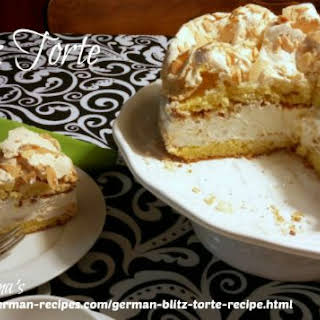 German Butter Cream Torte Recipes.