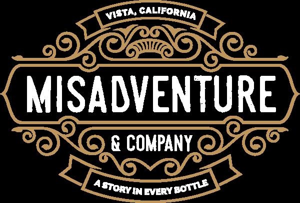 Logo for Misadventure Vodka