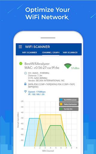 WiFi Scanner: Speed Tester, Signal Strength Meter ss1
