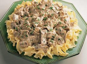 Grandma's Beef Stroganoff Recipe