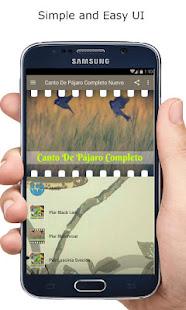Download Canto De Pájaro Completo Nuevo For PC Windows and Mac apk screenshot 2