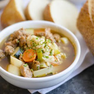 Tuscan Barley Soup.