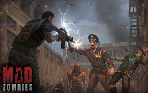 MAD ZOMBIES : Jeux de Zombie APK MOD – ressources Illimitées (Astuce) screenshots hack proof 2