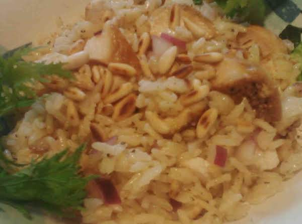 Lemon Chicken Rice Salad