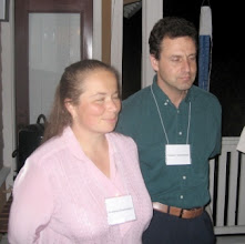 Photo: Professors Svetlana Jitomirskaya and Vladimir Mandelshtam